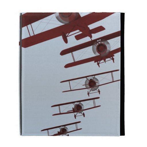 Retro Biplane iPad Folio Cases