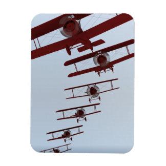 Retro Biplane Magnet