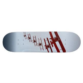 Retro Biplane Skateboard Deck