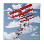 Retro Biplane Tile