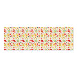 Retro birds and flowers pattern Double-Sided mini business cards (Pack of 20)