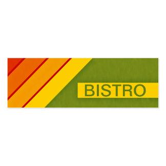 retro BISTRO Mini Business Card