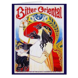 Retro Bitters Ad 1897 Card