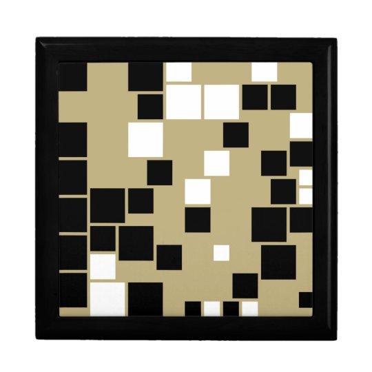 Retro Black and White Pattern Gift boxes