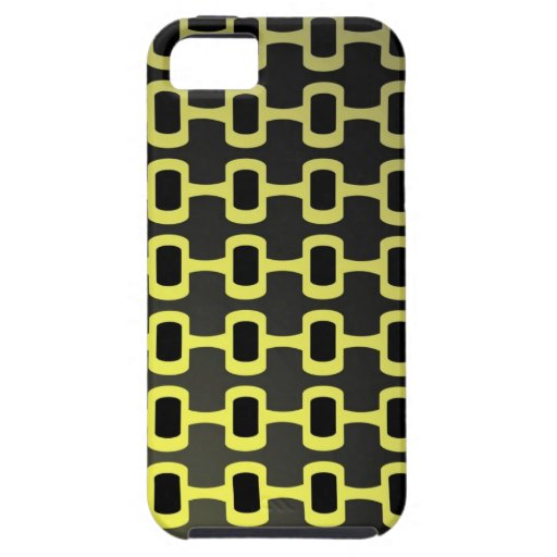 Retro Black and Yellow iPhone SE/5/5s Case