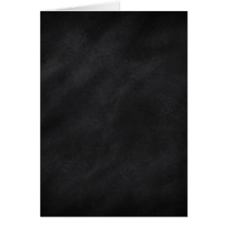 Retro Black Chalkboard Texture Greeting Card