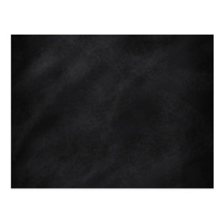 Retro Black Chalkboard Texture Postcard