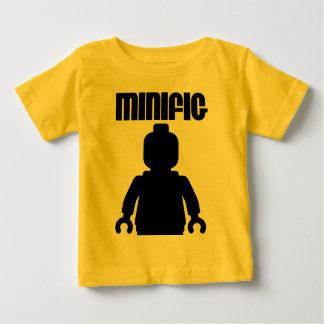 Retro Black Minifig by from Customize My Minifig T-shirt