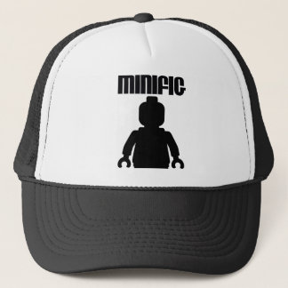 Retro Black Minifig by from Customize My Minifig Trucker Hat