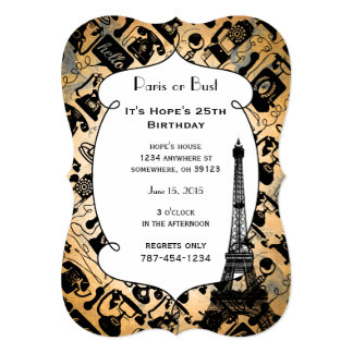 Retro Black or any color & White Telephone Pattern Card