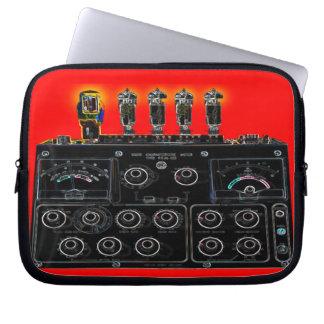 Retro Black Vacuum Tube Machine Lap Top Bag Laptop Sleeve Cases