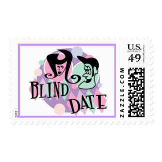 Retro Blind Date Postage