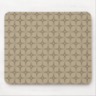 Retro Bliss Mousepad, Latte Mouse Pad