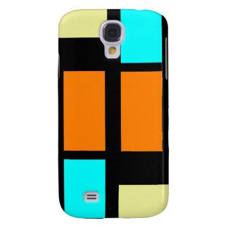 Retro Blocks Galaxy S4 Case