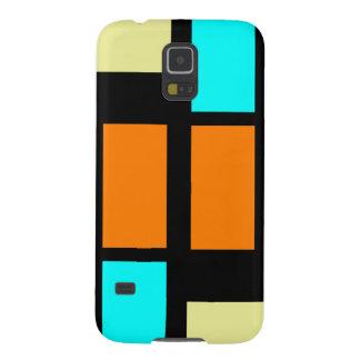 Retro Blocks Galaxy S5 Cases