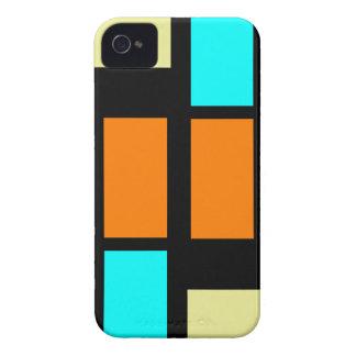 Retro Blocks iPhone 4 Case