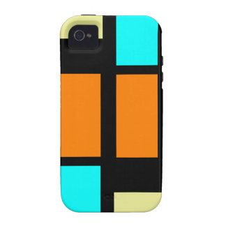 Retro Blocks Vibe iPhone 4 Case