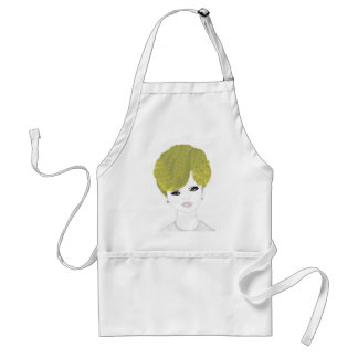 Retro Blond Adult Apron