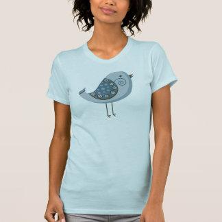 Retro Blue Bird T-Shirt