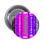 Retro blue black pink gray psychedelic rectangles pinback buttons
