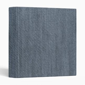 Retro Blue Denim Texture Binder