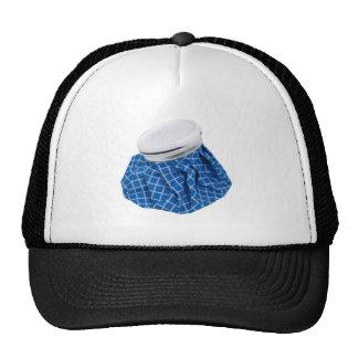 Retro Blue Ice Pack Trucker Hat