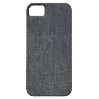 Retro Blue Old Faded Ripped Denim Texture iPhone 5 Cover