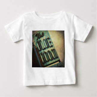 Retro Blue Room Cocktail Lounge Sign Baby T-Shirt