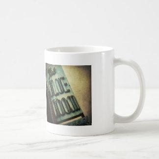 Retro Blue Room Cocktail Lounge Sign Coffee Mug