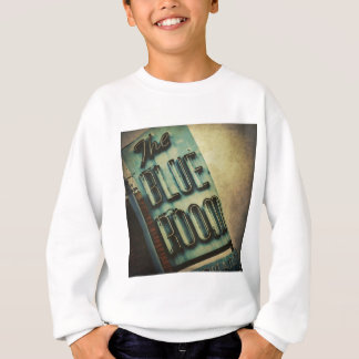 Retro Blue Room Cocktail Lounge Sign Sweatshirt