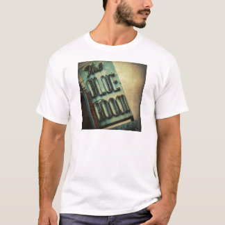 Retro Blue Room Cocktail Lounge Sign T-Shirt