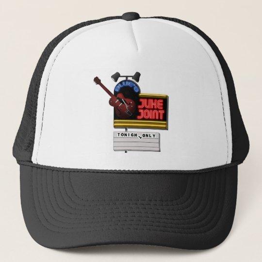 Retro Blues Juke Joint Trucker Hat