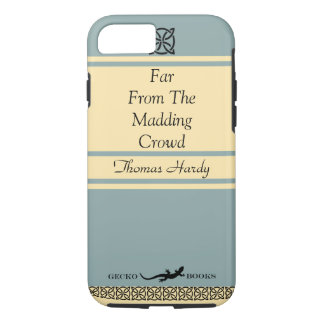 Retro Book In Vintage Blue Featuring Thomas Hardy iPhone 7 Case