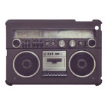 Retro Boombox Cassette Player Funny iPad case iPad Mini Covers