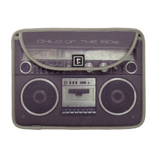 Retro Boombox Cassette Player Funny Macbook sleeve Sleeve For MacBook Pro