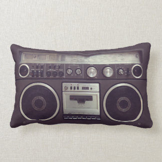 Retro Boombox Cassette Player Funny pillow