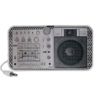 Retro Boombox Speakers