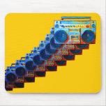 Retro Boomboxes Mousepad