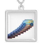 Retro Boomboxes Necklace