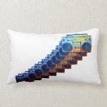Retro Boomboxes Pillow