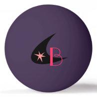 Retro Boomerang Ping Pong Ball