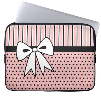 Retro Bow Laptop Case