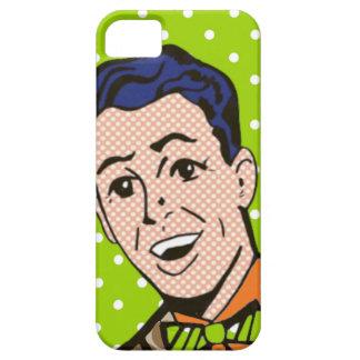 Retro Bow Tie Guy Comic Book iPhone 5/5S Case
