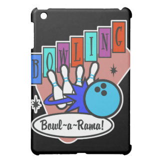 retro bowl-a-rama sign iPad mini cases