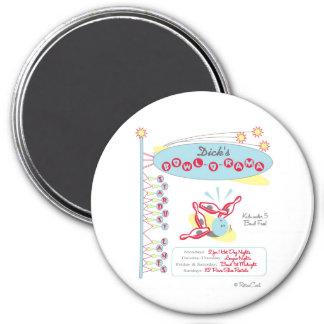 Retro Bowl-O-Rama Magnet
