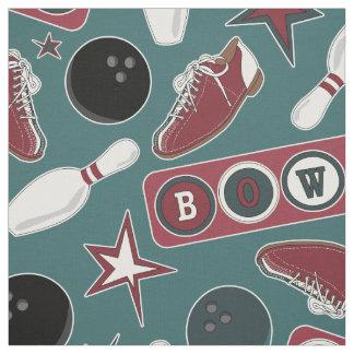 Retro Bowling Fabric
