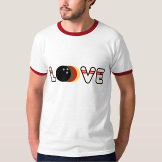 Retro Bowling Love T-Shirt