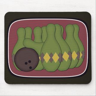 Retro Bowling Mouse Pad
