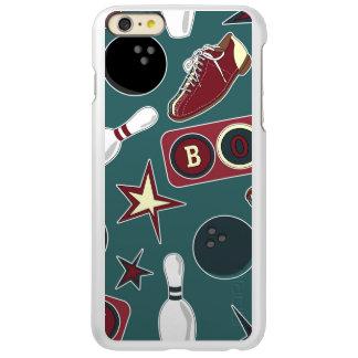 Retro Bowling Pattern Incipio Feather® Shine iPhone 6 Plus Case