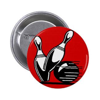 Retro Bowling Pins Customizable
